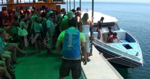 Speed boat Koh Lipe to Pakbara