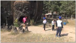 Buddha Park, Wat Xiengkhuan, Vientiane, Laos 013