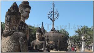 Buddha Park, Wat Xiengkhuan, Vientiane, Laos 026