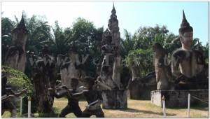 Buddha Park, Wat Xiengkhuan, Vientiane, Laos 027