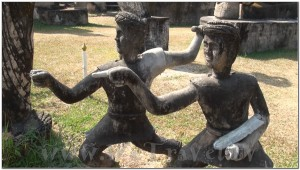 Buddha Park, Wat Xiengkhuan, Vientiane, Laos 029