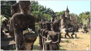Buddha Park, Wat Xiengkhuan, Vientiane, Laos 030