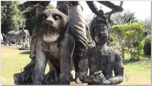 Buddha Park, Wat Xiengkhuan, Vientiane, Laos 032