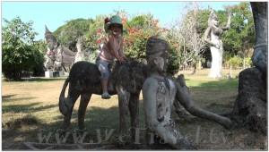 Buddha Park, Wat Xiengkhuan, Vientiane, Laos 042