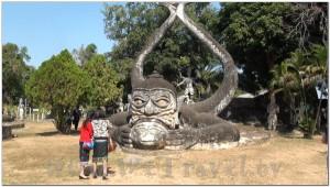 Buddha Park, Wat Xiengkhuan, Vientiane, Laos 044