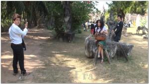 Buddha Park, Wat Xiengkhuan, Vientiane, Laos 045