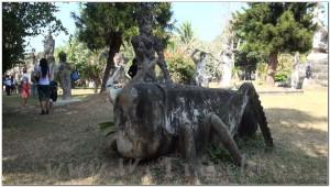 Buddha Park, Wat Xiengkhuan, Vientiane, Laos 047