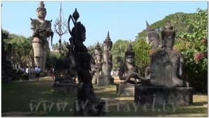 Buddha Park, Wat Xiengkhuan, Vientiane, Laos 049