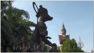Buddha Park, Wat Xiengkhuan, Vientiane, Laos 051