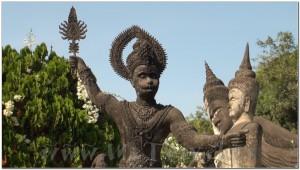 Buddha Park, Wat Xiengkhuan, Vientiane, Laos 052