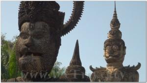 Buddha Park, Wat Xiengkhuan, Vientiane, Laos 053