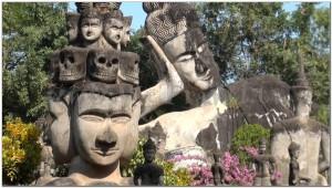 Buddha Park, Wat Xiengkhuan, Vientiane, Laos 058