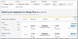 Booking Flights Santiago Isla de Pascua Expedia 04. 07. 2013 004
