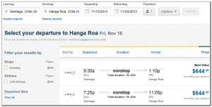 Booking Flights Santiago Isla de Pascua Expedia 04. 07. 2013 006