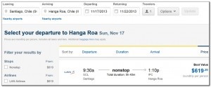 Booking Flights Santiago Isla de Pascua Expedia 04. 07. 2013 007