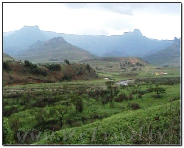 Republic of South Africa Drakensberg 011