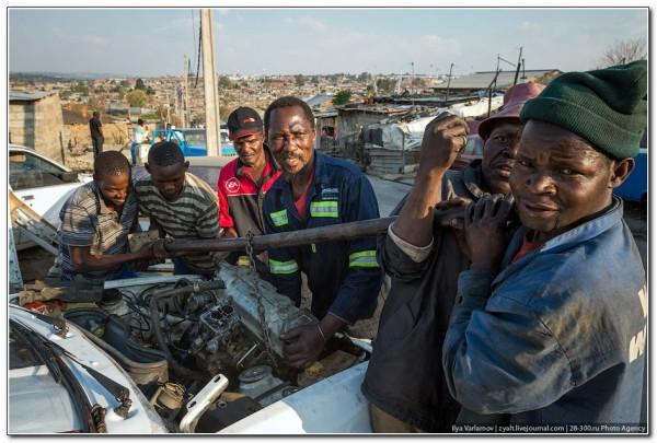 Slum South Africa. 3