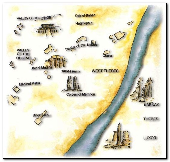 Visitor attractions in Egypt Luxor 2