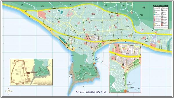Alanya. Turkey Map 002