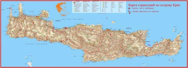 Crete map 000