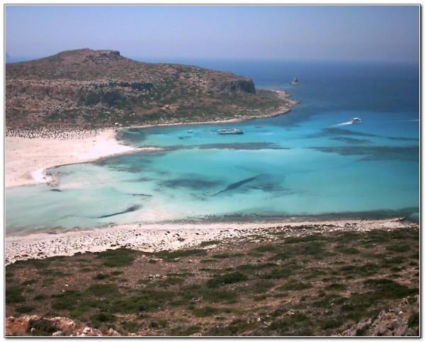 Gramvoussa. Balos bay