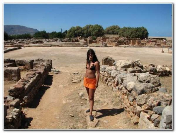 Minoan settlement of Mallia archaeological site, Crete