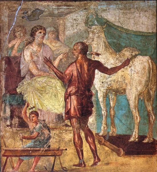 Pompeii_-_Casa_dei_Vettii_-_Pasiphae
