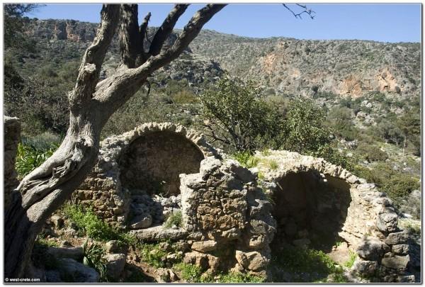 Roman graves in Lissos