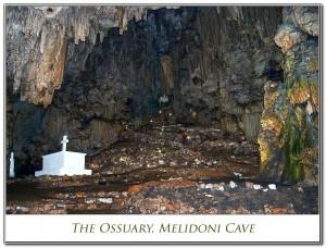The Ossuary, Melidoni Cave - Melidoni, Rethimno