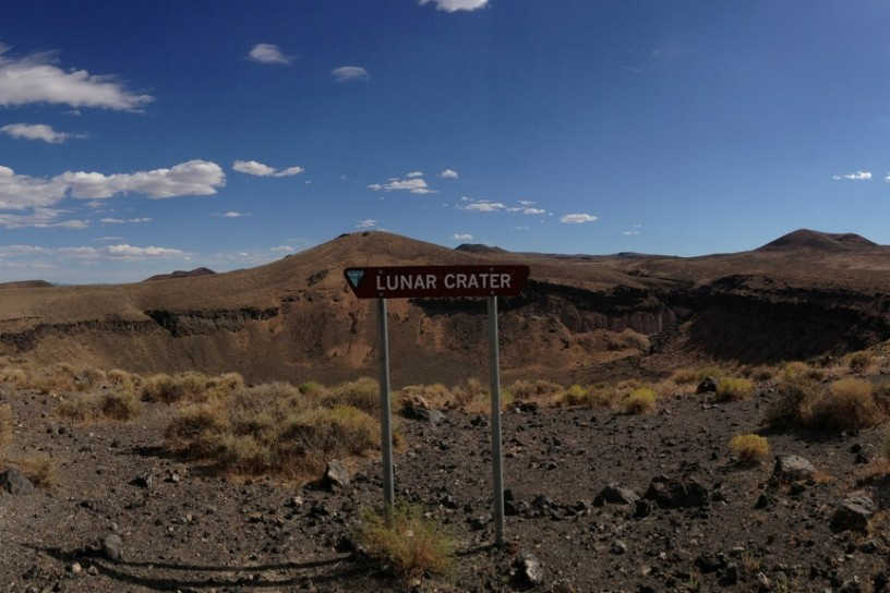 Lunar Crater, Nevada, USA