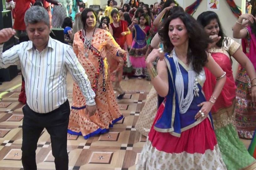 Navratri and Garba in Moscow 4
