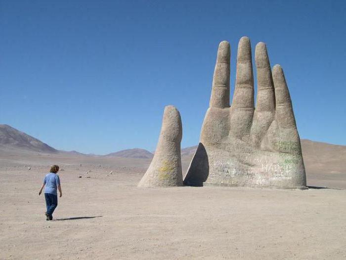 Рука Пустыни Mano del Desierto