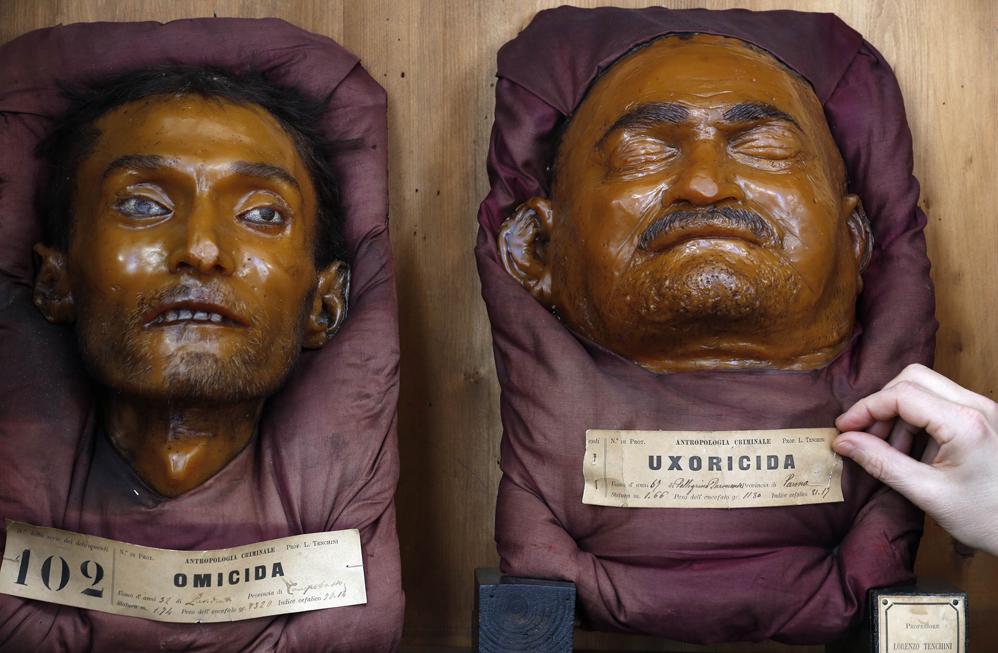 Музей Криминальной Антропологии  имени Чезаре Ломброзо  (Lombroso's Museum of Criminal Anthropology),  Турин (Turin), Италия