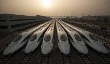 Xi'an North Railway Station, China