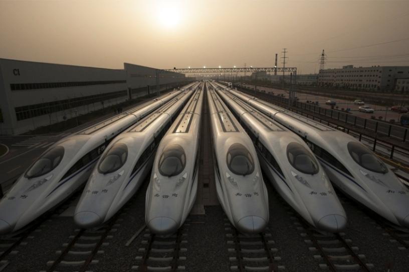Xi'an North Railway Station, China