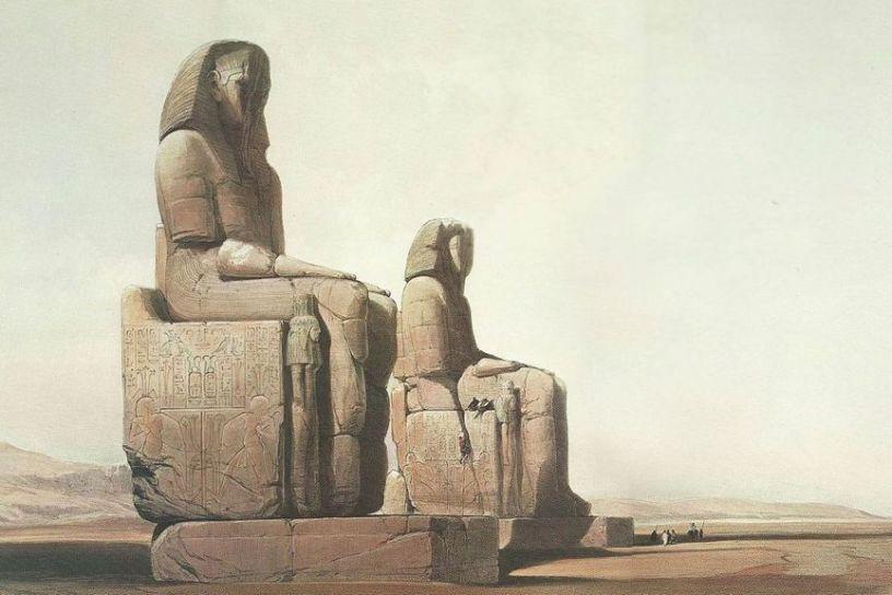The Colossi Of Memnon 2