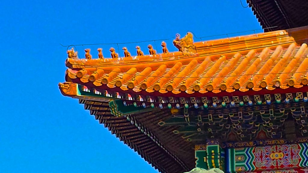 36. Gugong Beijing Forbidden City Map 6