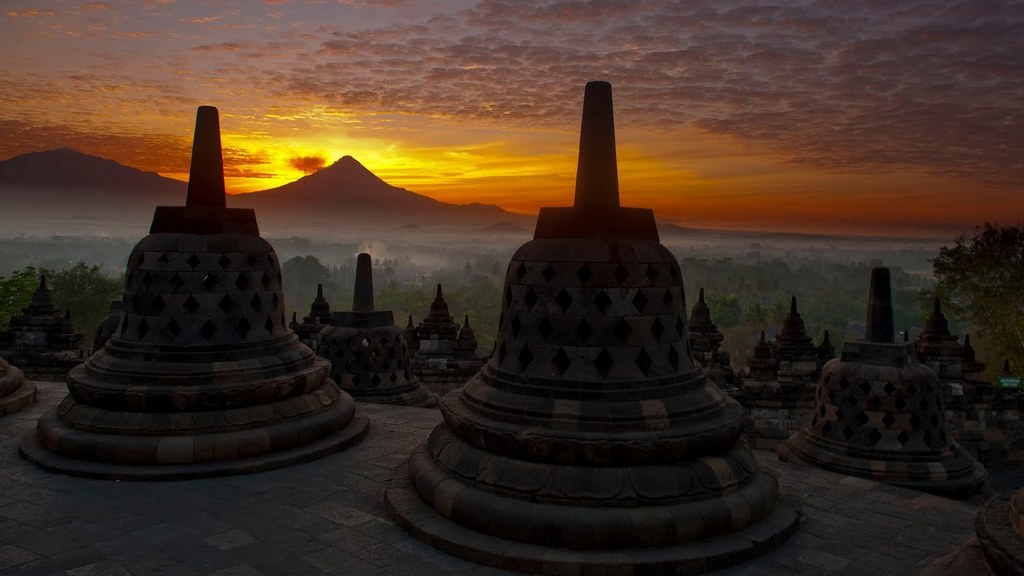 Borobudur Самостоятельные путешествия по Индонезии