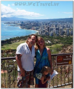 Hawaii Oahu Waikiki Alex Grinin Julia Mahmutova