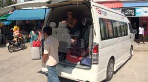Minibus Pak Bara to HatYai AirAsia