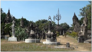Buddha Park, Wat Xiengkhuan, Vientiane, Laos 035
