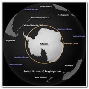 Antarctic Circle Map 001