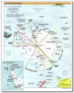 Antarctic Circle Map 003
