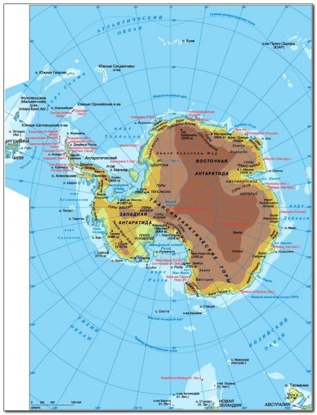 Antarctic Circle Map 004