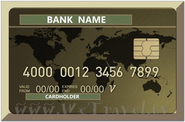 Bank Card 001