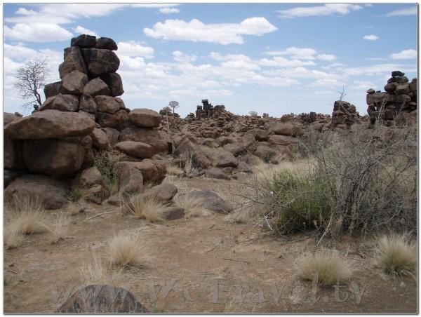 Giant's Playground near Keetmanshoop - Namibia
