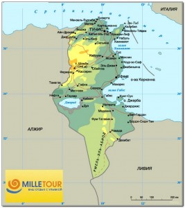 Tunisia map 002