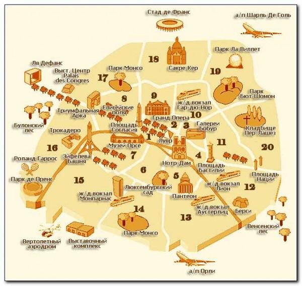 Paris map 01