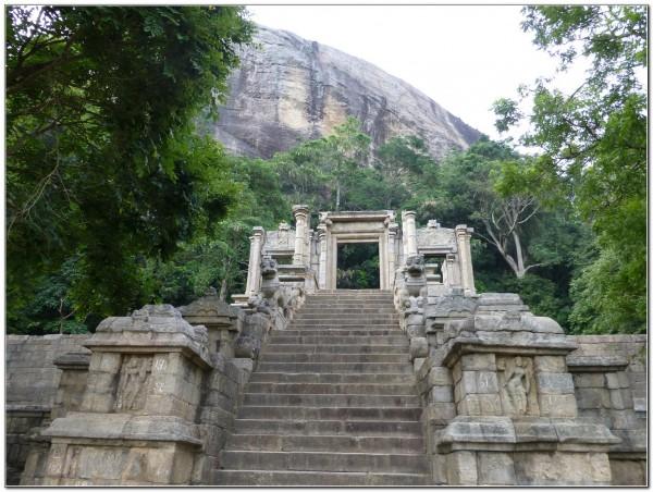 Sri Lanka. Yapahuwa 001