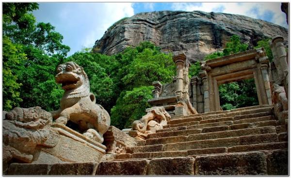 Sri Lanka. Yapahuwa 002